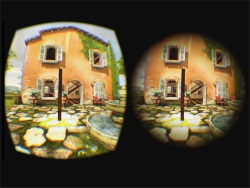 Views of virtual environment before and after subtle dynamic field-of-view modification