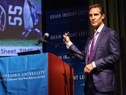 Morrison's lecture was part of the Stavros Niarchos Brain Insight Lecture series hosted by Columbia's Mortimer B. Zuckerman Mind Brain Behavior Institute.